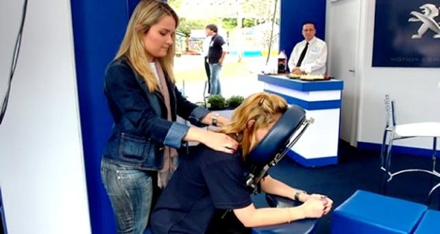 Quick Massage Em Empresas e Eventos